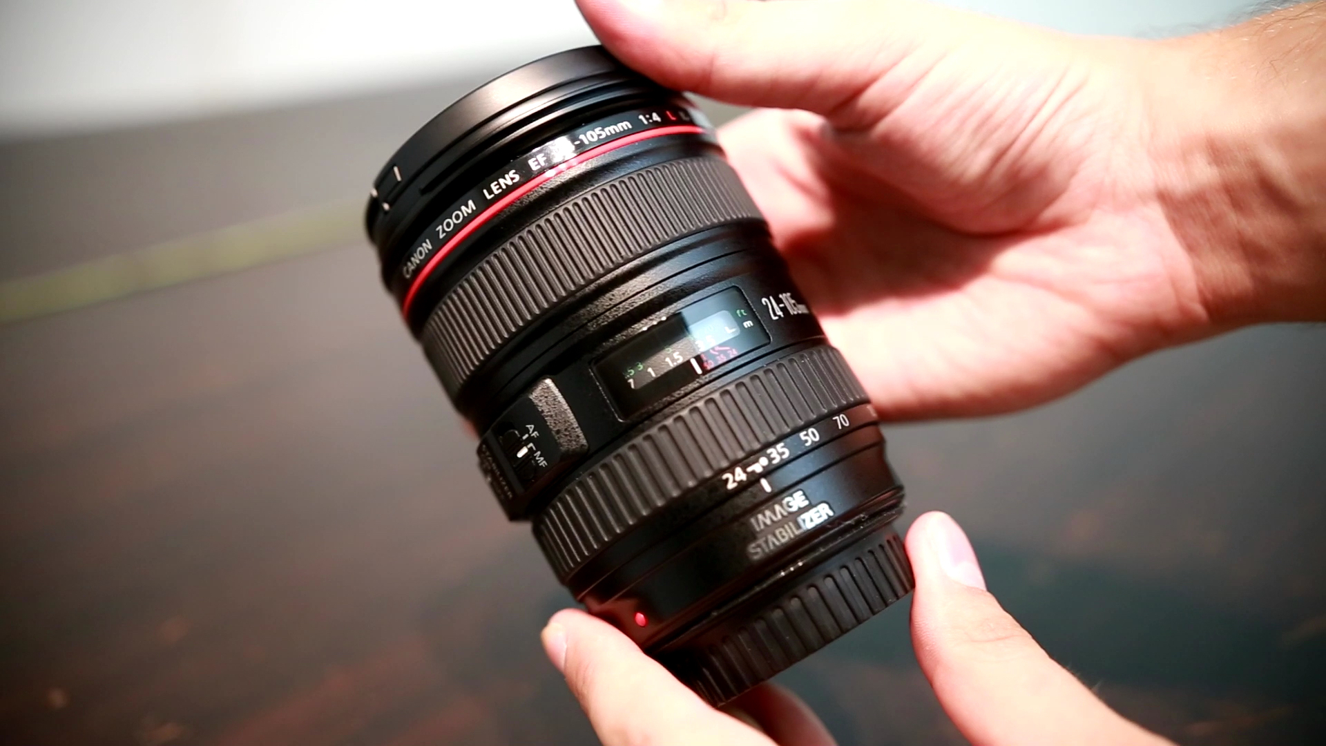 A review of Canons 24-105mm f4 L