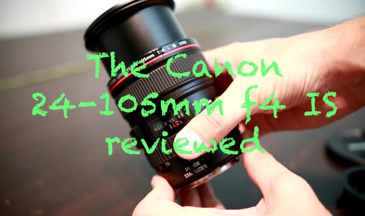 A review of the Canon 24-105mm with sample images and video footage