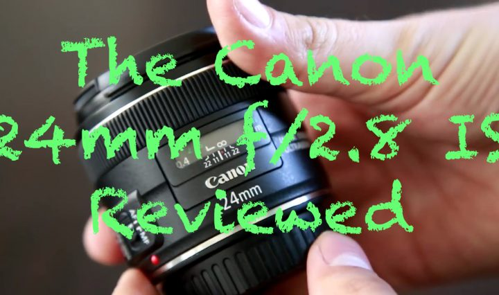 Cafetography reviews Canons 24mm f2.8 IS